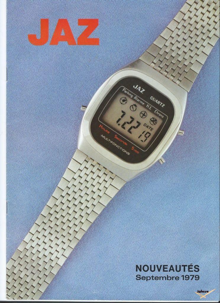 Catalogue Nouveautés Montres Jaz 1978