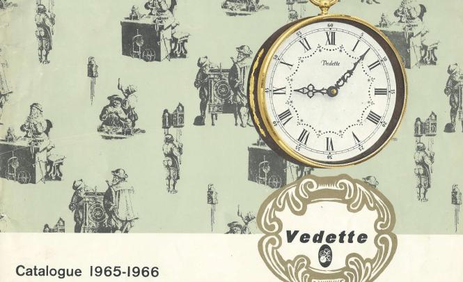 Catalogue pour horloges et pendules Vedette (1965-1966)