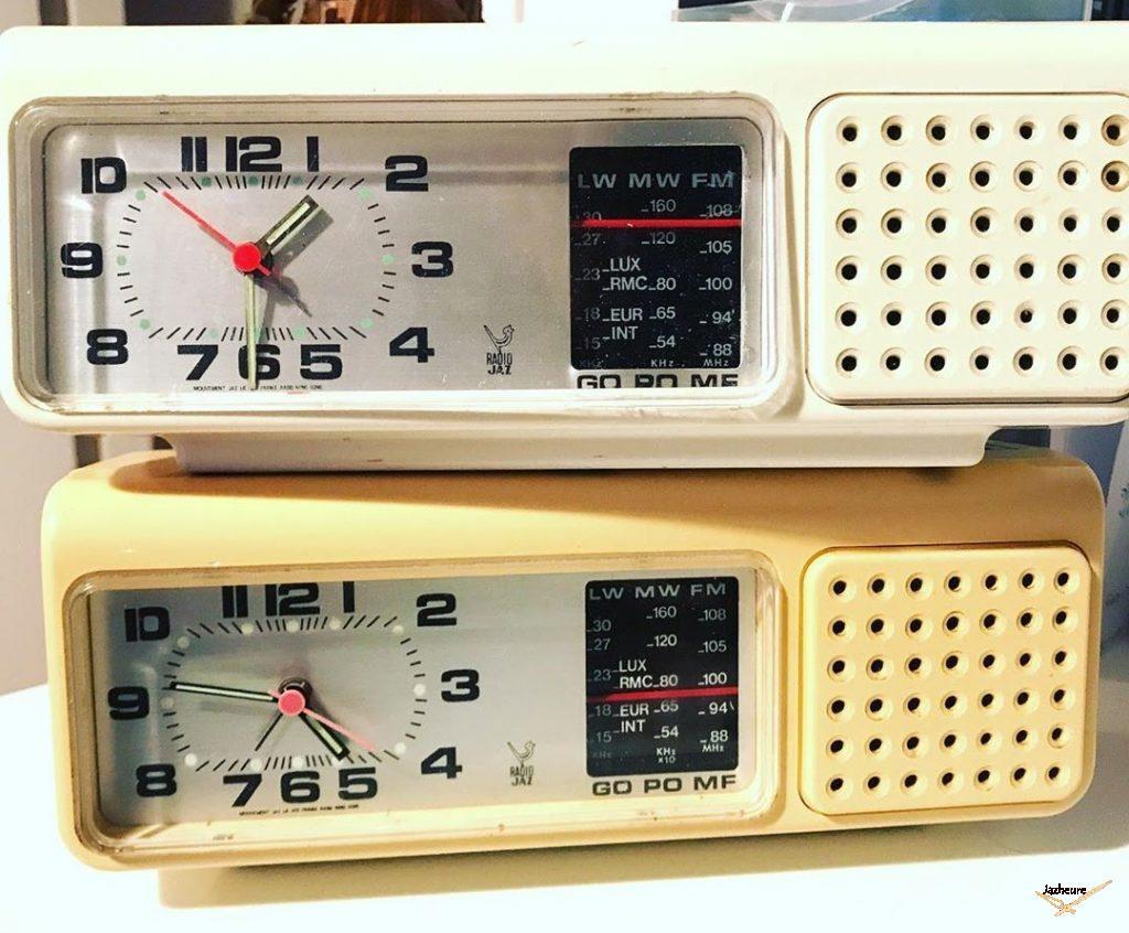 Radio réveil Jaz MOFIC (1976-1982) GO/PO/MF