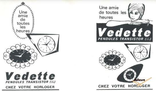 Publicité Vedette 1965