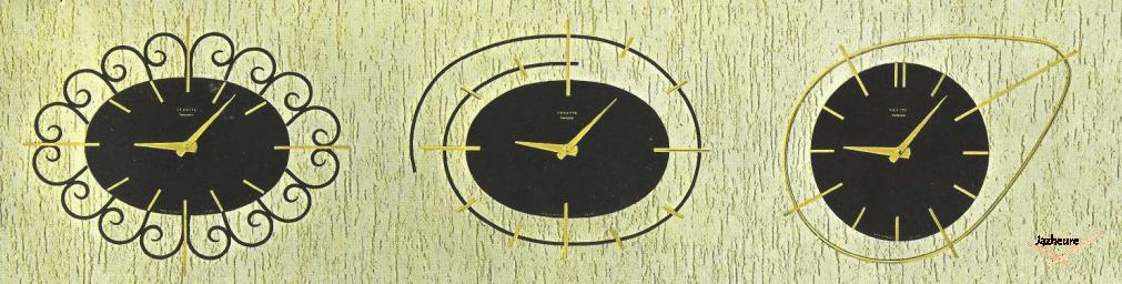Horloge Vedette N° 25 , 38 et 27