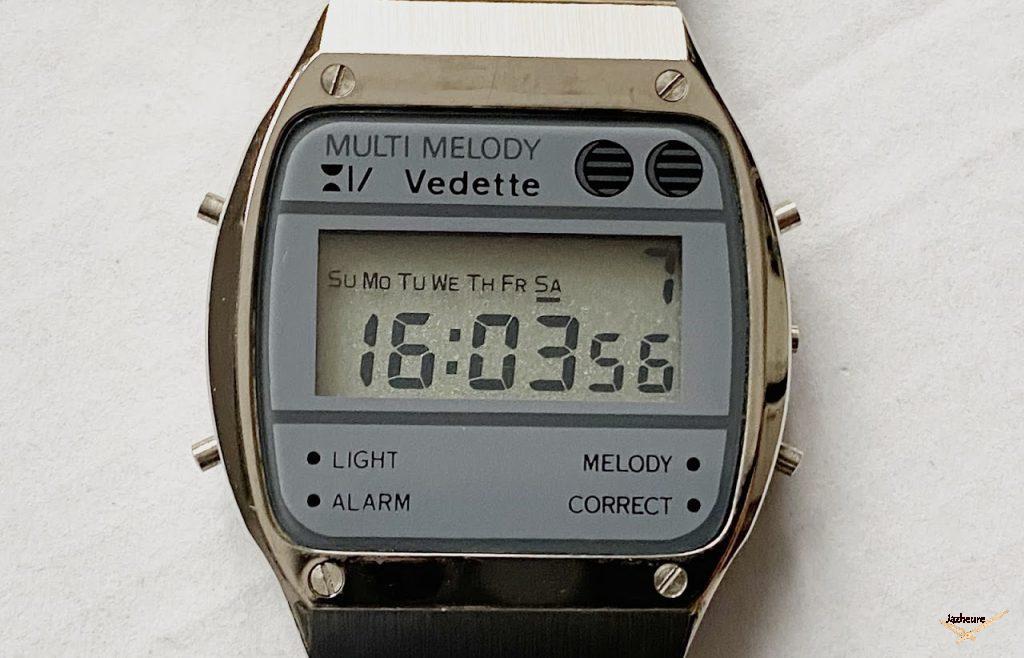 Montre Vedette Quartz (année 1980)