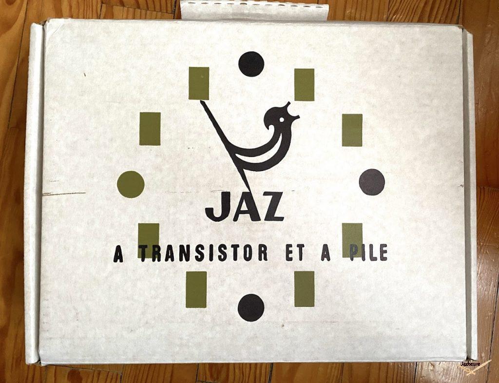 Boite pour horloge Jaz transistor