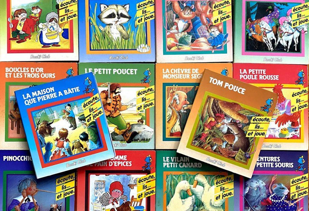 Livres cassettes Bouki Club (1988-1989)