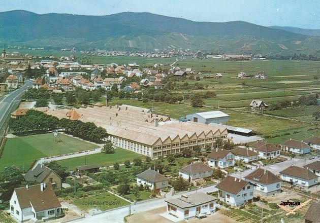 Usine Jaz Carte postale Wintzenheim (année 1965)