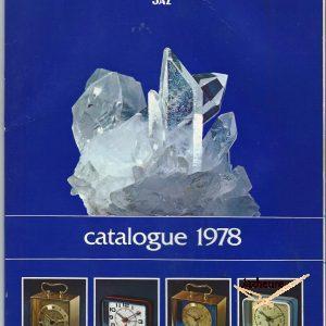 Catalogue Jaz 1978