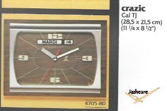 Catalogue Jaz CRAZIC