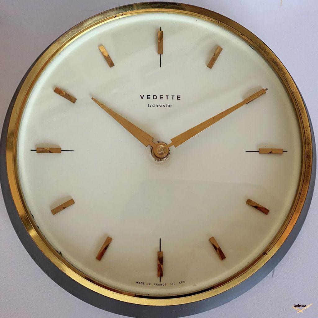 Horloge Vedette transistor