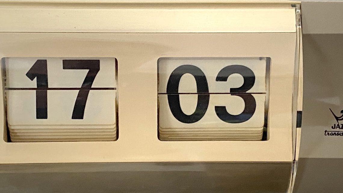 Horloge de comptoir Jaz CHIFFRIC (1971-1976)