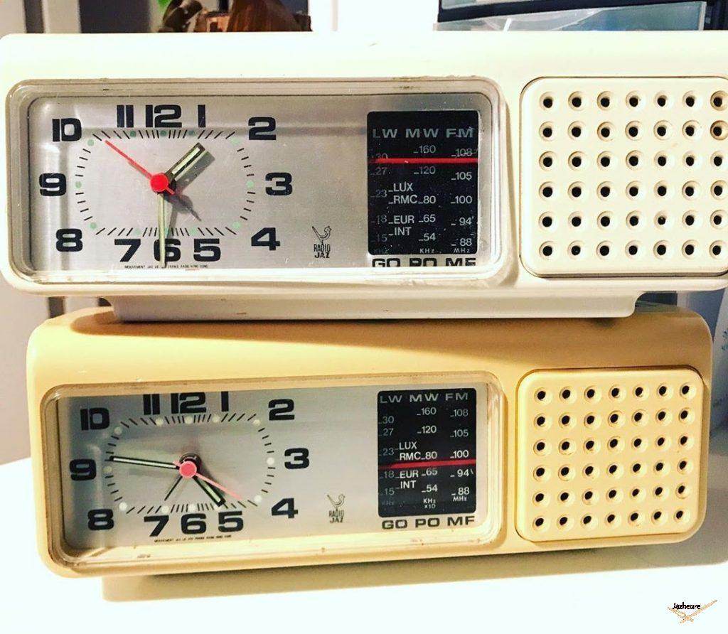 Radio - réveil Jaz MOFIC (1976-1982)