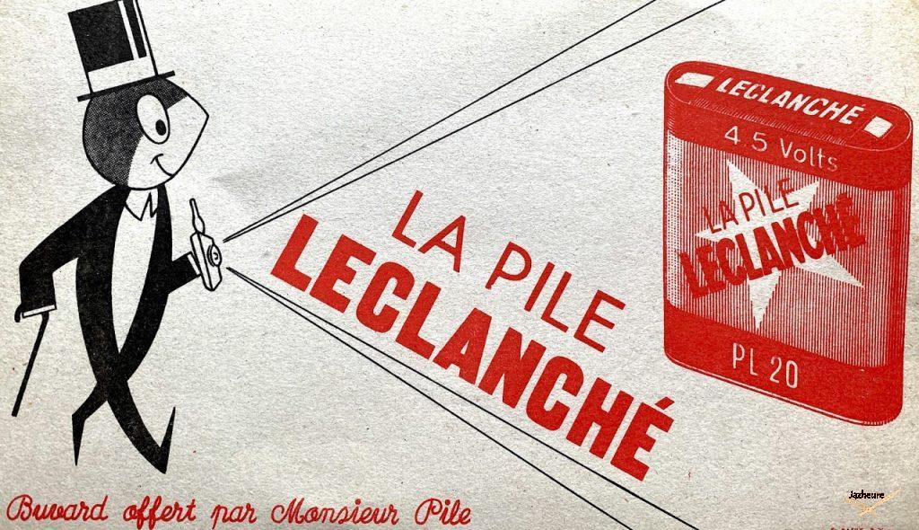 Buvard pile Leclanché