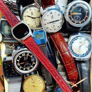 Lot de montres mécanique et quartz Jaz