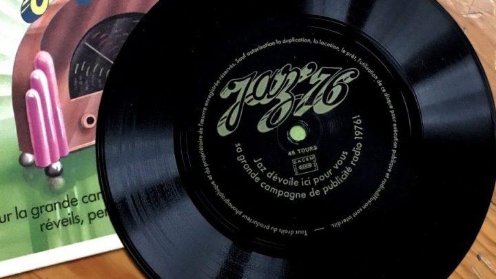 Flexdisc publicitaire Jaz de 1976