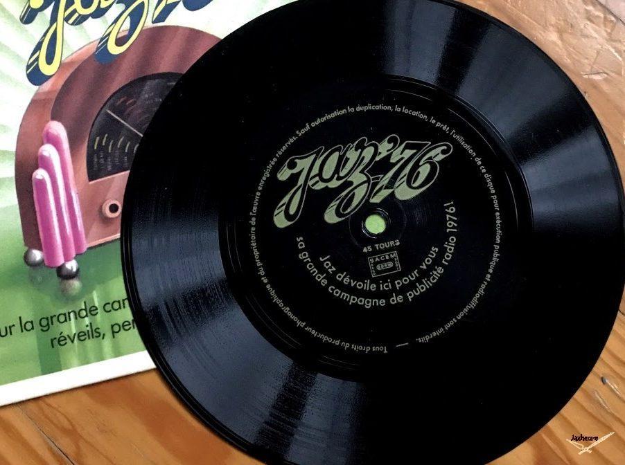 Flexdisc Jaz campagne de publicité radio JAZ 1976