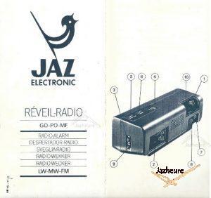Mode d'emploi Radio Jaz MOFIC