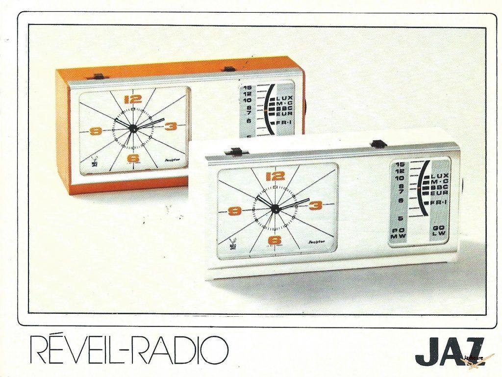Carte postale Jaz : Avis de passage Jaz 1974