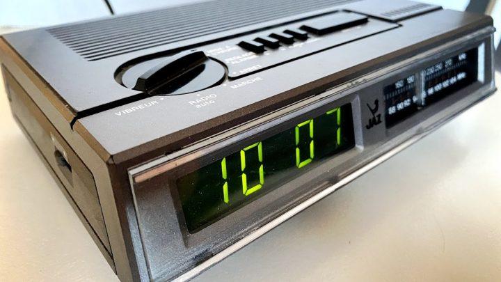 Radio-réveil Jaz SALTIC (1983-1986)