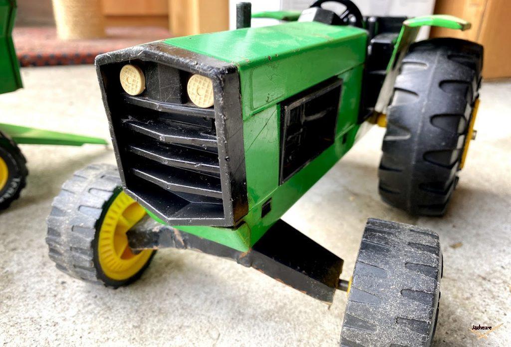 Tonka Tracteur + remorque N° 2710 / 602710 fabriqué en 1973