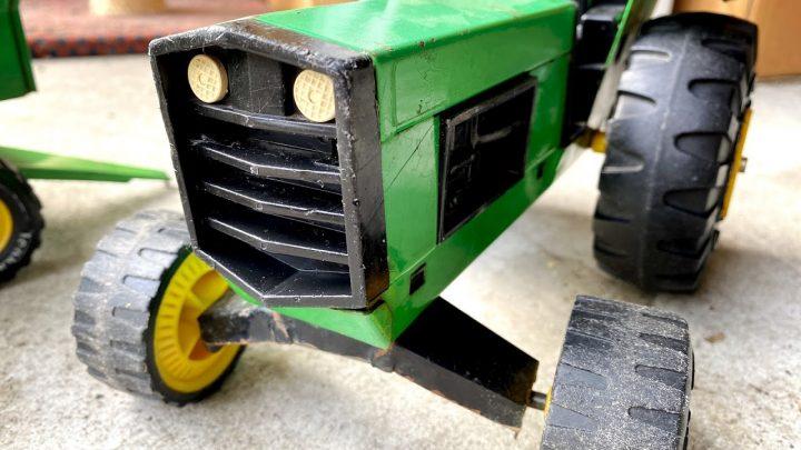 Tonka Tracteur + remorque (1973)