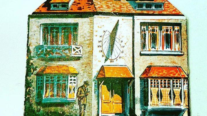 Publicité représentant une maison JAZ