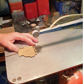 Horloge Jaz TURIC (1963-1965) restauration découpe