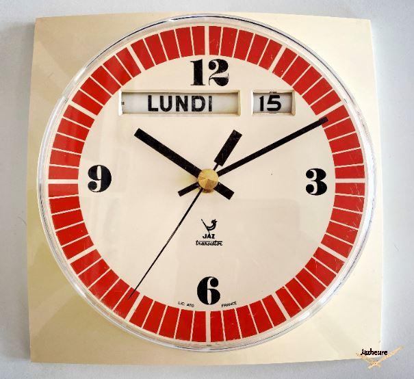 Horloge Jaz LAMBRIC (1972-1973)