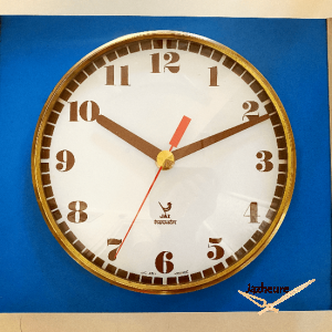 Horloge Jaz TRANCHIC (1972-1976) bleu