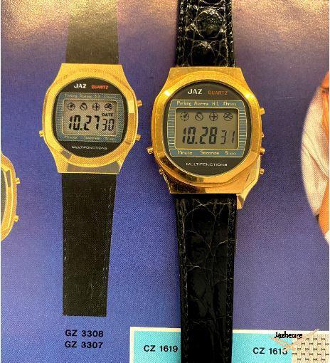 Montre Jaz GS 3307-8 1979