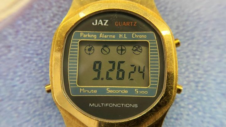 Montre Jaz LCD GZ 3307-8