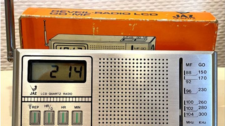 Radio-réveil Jaz FILIC (1981-1982)