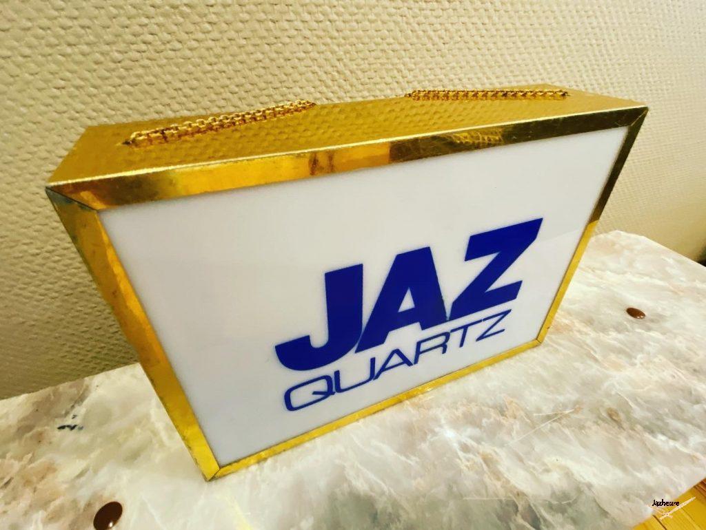 Enseigne lumineuse Jaz Quartz (1984-1989)