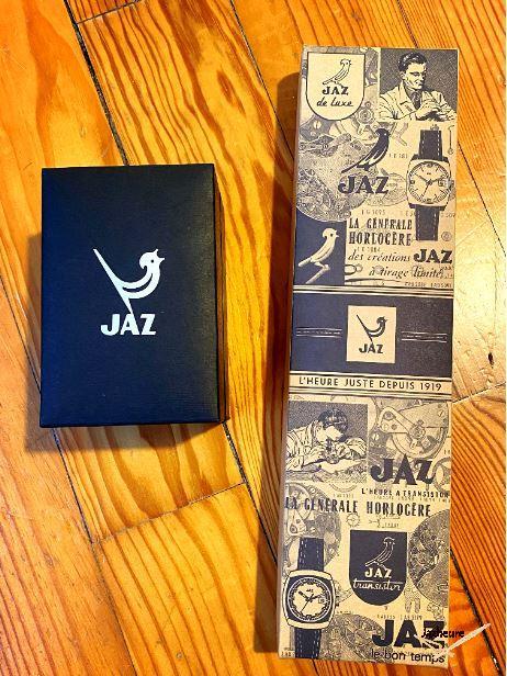 Boites montres Jaz jazwatch 2016