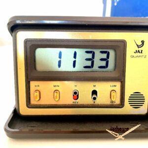 Réveil Jaz FUSIC (1981-1984) Quartz et LCD