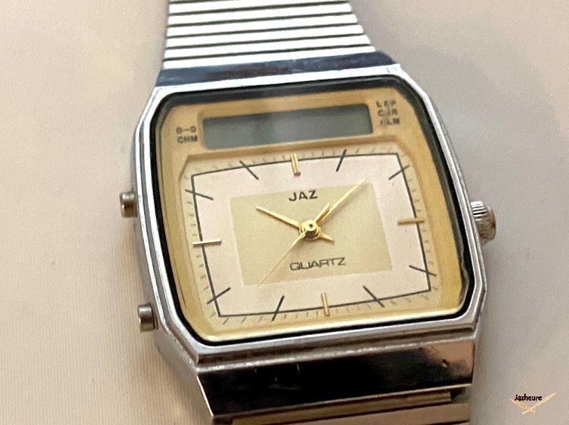 J7 Quartz double affichage