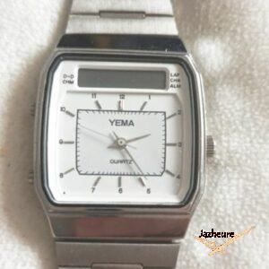 Montre Quartz double affichage YEMA J7