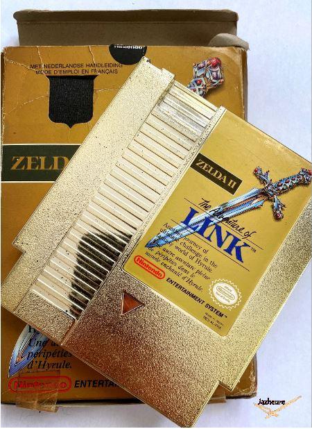 NES Zelda 2 The adventure of Link (1988)