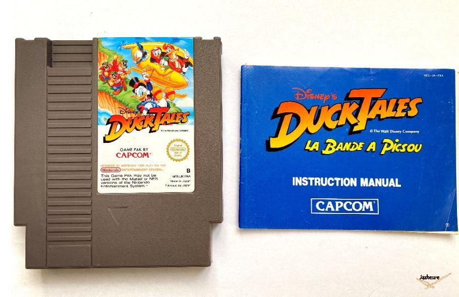 Nes Duck Tales La bande à Picsou (1989)