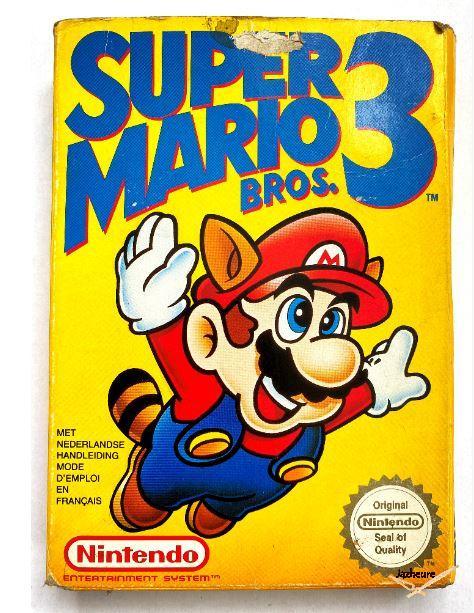 Nes Super Mario Bros 3 (1988)