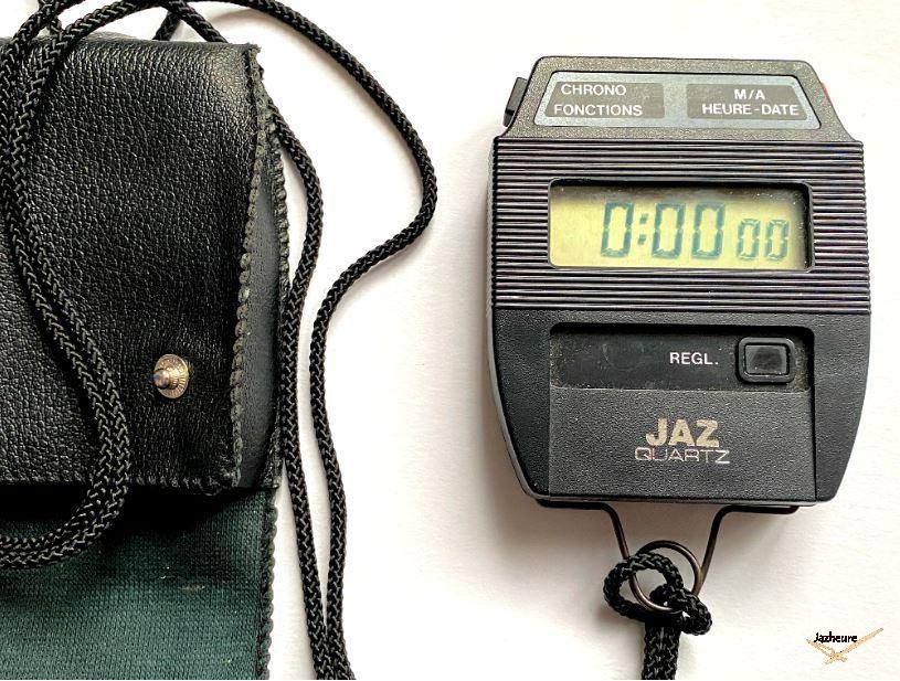 Chronomètre LCD Jaz Quartz 5621 (1985-1987)