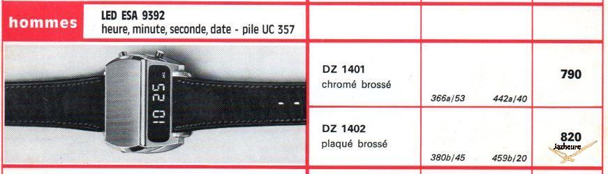 Montre Jaz LED DZ 1401