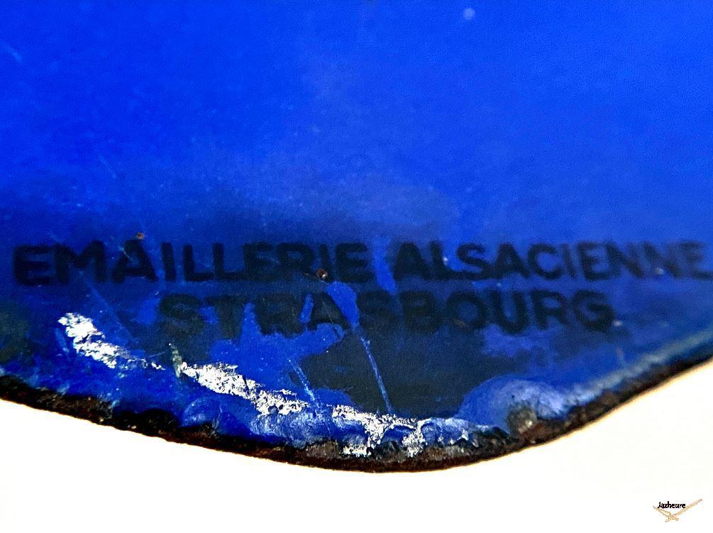 Emaillerie Alsacienne - plaque Jaz