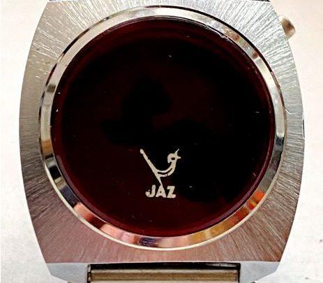 Montre Jaz LED DZ 1423 de 1976 (postiche)