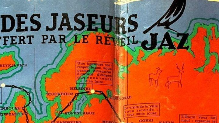 Jeu Le Tour du Monde des Jaseurs (1943)