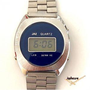 Montre Jaz Quartz LCD année 80