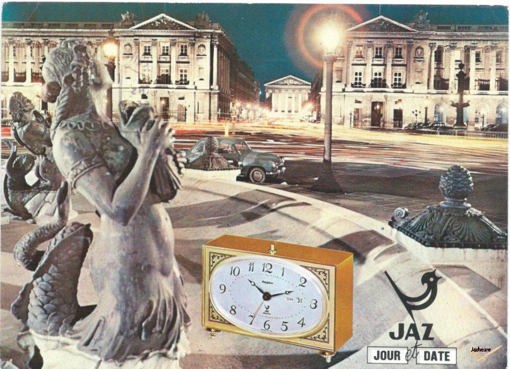 Carte postale avis de passage de 1970.