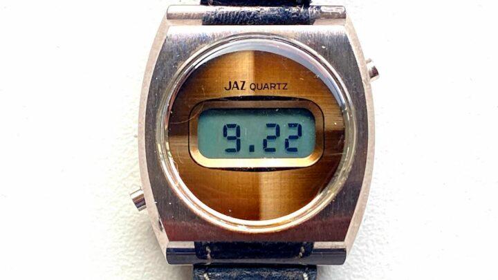 Montre Jaz LCD CZ 1501 de 1975