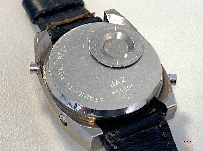 Montre quartz LCD CZ-1501 de 1975