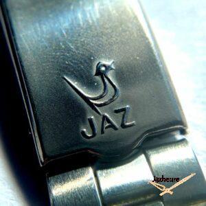 Bracelet acier de montre Jaz avec logo