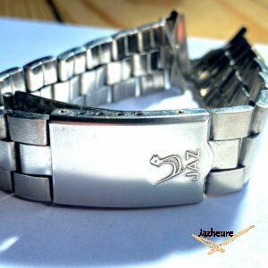 Bracelet acier pour montre Jaz avec logo