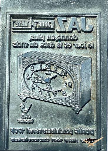 Matrices de tampon Jaz GUEPIC et PERLIC (vers 1970)